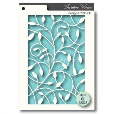 GARDEN VINES -  Craft Stencil