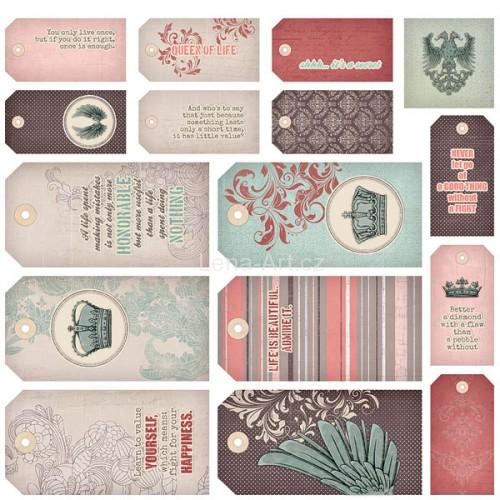7 DOTS STUDIO - The Queen's Heart - Tags