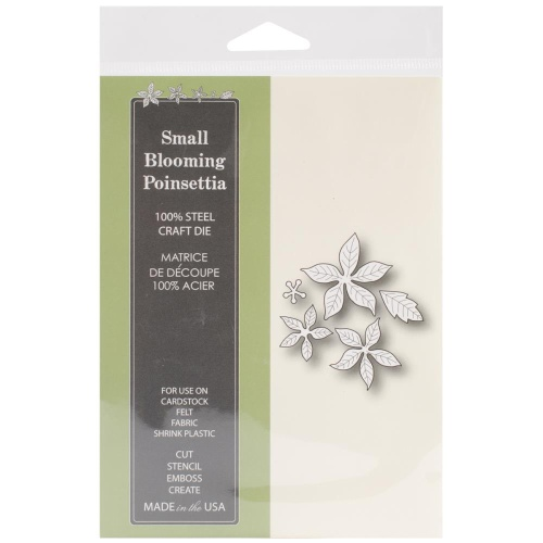 Memory Box/Poppystamps ''SMALL BLOOMING POINSETTIA''