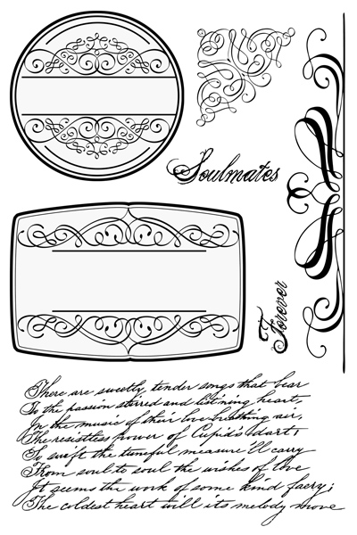 Soulmates CLEAR STAMPS
