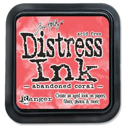 Distress Ink ''ABANDONED CORAL''