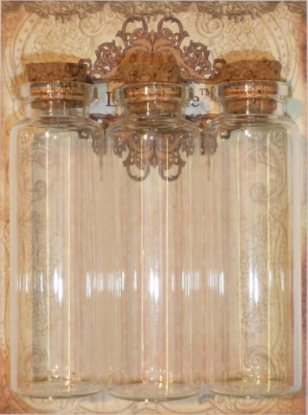 La Blanche - Vials Medium Clear 3ks