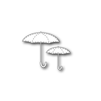Poppystamps ''STITCHED UMBRELLAS''
