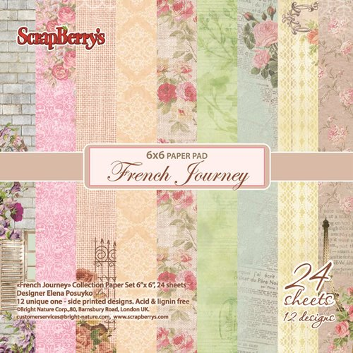Scrapberry's FRENCH JOURNEY 6x6