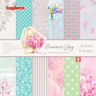 Scrapberry's SUMMER JOY 6x6