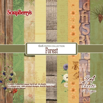 Scrapberry's FOREST 6x6