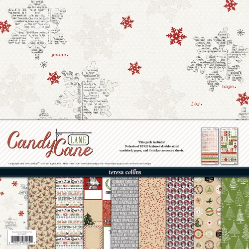 Teresa Collins ''CANDY CANE LANE''