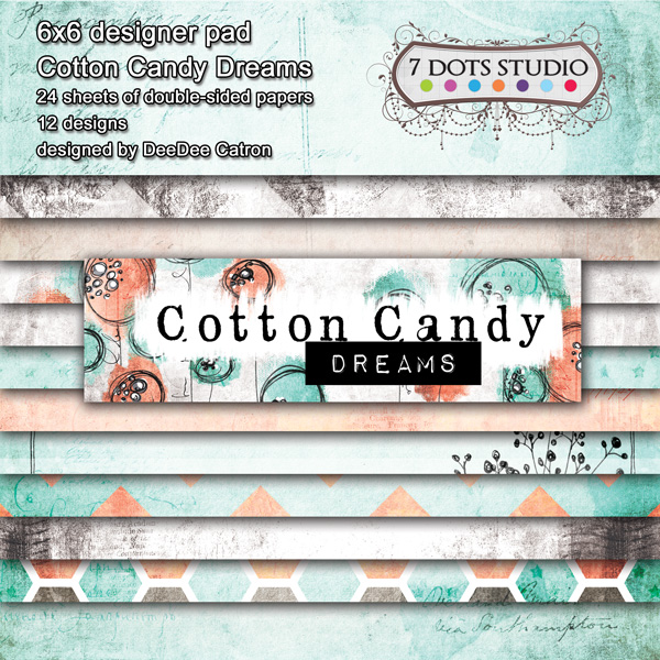 Cotton Candy Dreams ''6x6 pad''