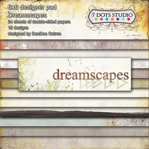 7Dots Studio DREAMSCAPES 6x6 pad