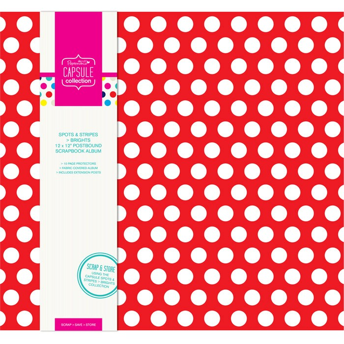 Spots & Stripes Brights -album 30 x 30