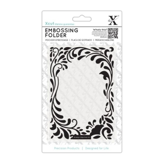 FLORAL CURLS embossing folder