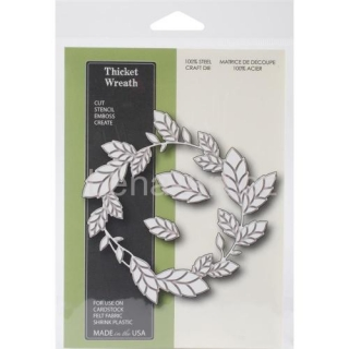 Memory Box/Poppystamps ''THICKET WREATH''