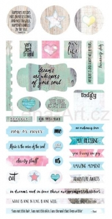 7 DOTS STUDIO Verano Azul ''Element Stickers 6x12''