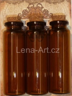 La Blanche - Vials Medium Amber 3ks