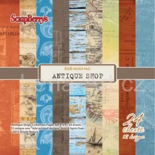 Scrapberry's ANTIQUE SHOP 6x6