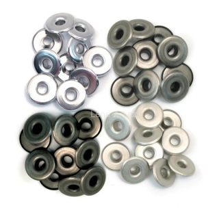 Eyelets Wide - Cool Metal 3/16''