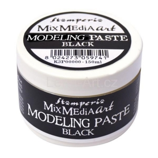 Mixed Media Art MODELING PASTE BLACK