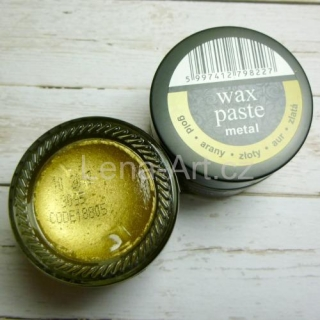 Wax paste metal - gold