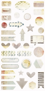 7Dots Studio DREAMSCAPES Die-cut elements