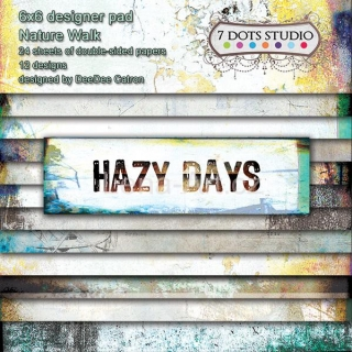 7Dots Studio HAZY DAYS 6x6 pad